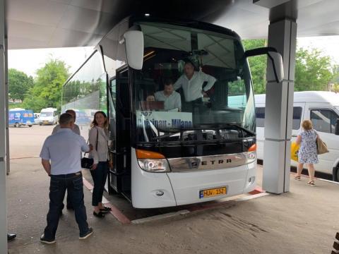 A fost lansată prima cursă de transport pasageri dintre Chișinău și Milano